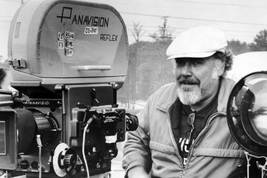 Robert Altman dietro la macchina da presa.