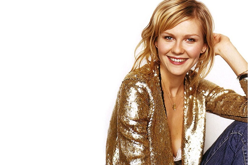 Una foto dell' attrice Kirsten Dunst