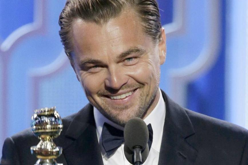 Leonardo DiCaprio primo piano