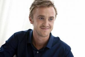 Tom Felton shoot