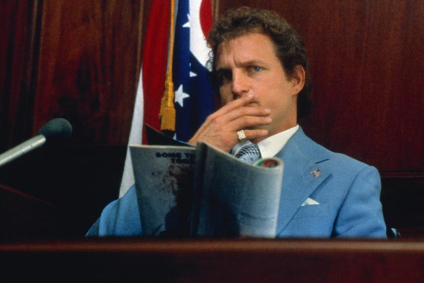 Woody Harrelson in Larry Flynt Oltre lo scandalo