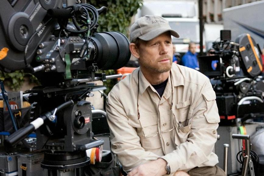 Ron Howard sul set