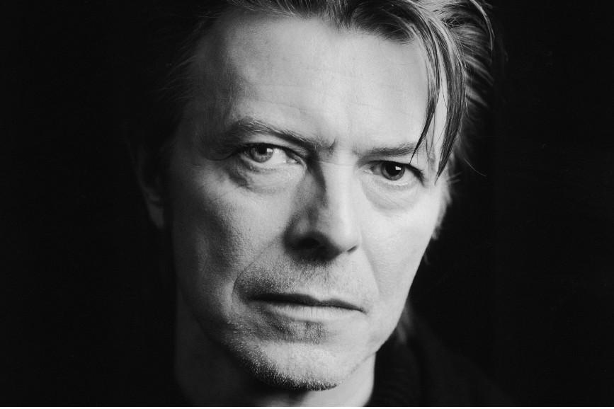David Bowie bianco e nero