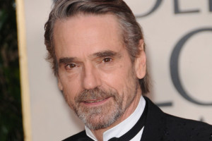 Jeremy Irons golden globe