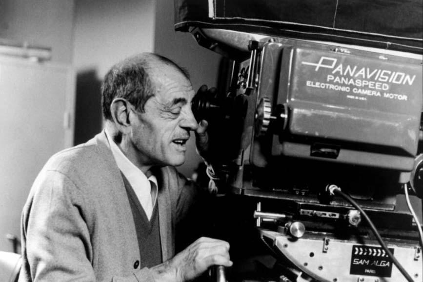Luis Buñuel Macchina da Presa
