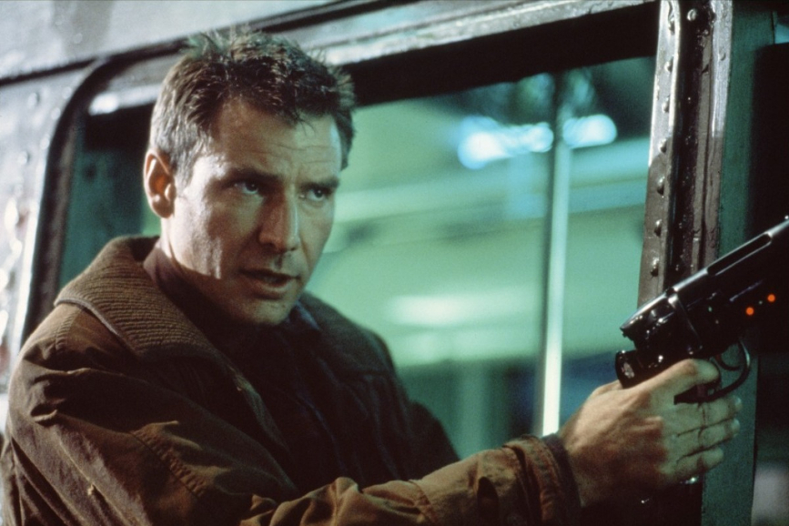 Harrison Ford Blade Runner di Ridley Scott