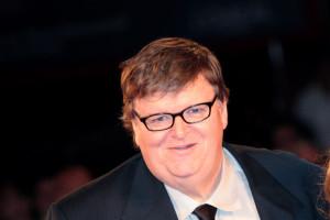 Michael Moore ad una serata di gala