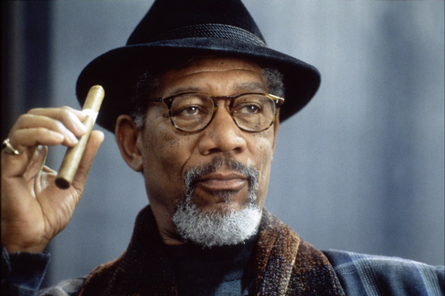 Morgan Freeman attore