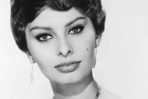 Sophia Loren bianco e nero