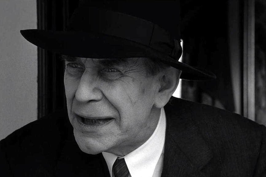 Martin Landau bianco e nero