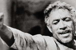 Anthony Quinn in scena
