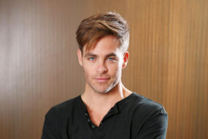 Chris Pine evidenza