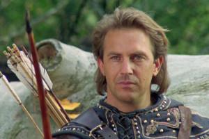 "Kevin Costner in ""Robin Hood"""