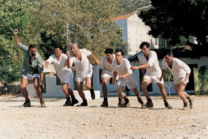 Gabriele Salvatores Mediterraneo scena film