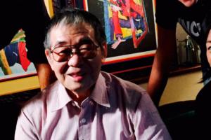 Kazuhiko Katō sorriso