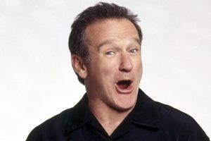 Robin Williams camicia nera