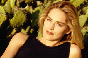 Sharon Stone giovane