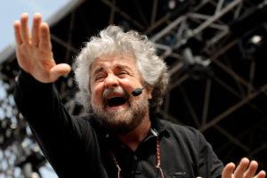 Beppe Grillo parla