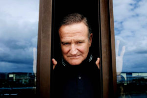 Robin Williams dietro la finestra