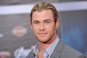 Chris Hemsworth red carpet