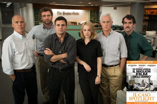 Oscar 2016: Miglior Film Spotlight