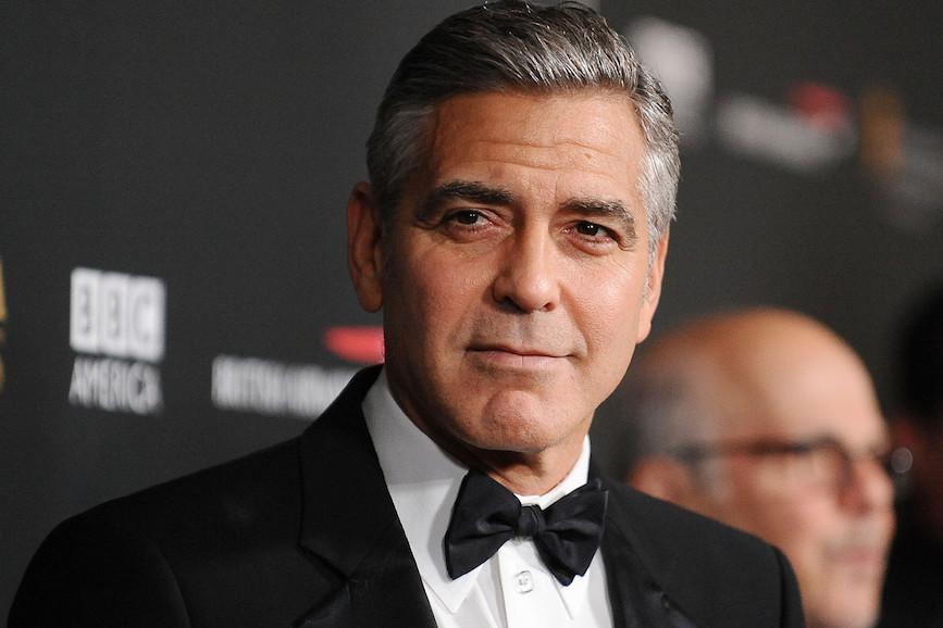 George Clooney ferito sul set