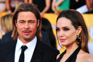 Angelina Jolie e Brad Pitt insieme