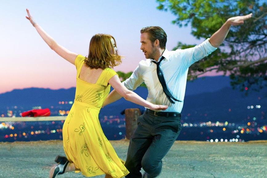 """""""La la Land"""": il musical pluricandidato agli Oscar 2017."""