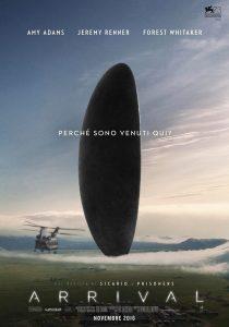 "Locandina di ""Arrival"", film dalle svariate candidature agli Oscar 2017"