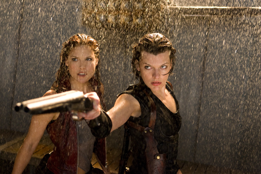 Resident Evil Milla Jovovich Ali Larter