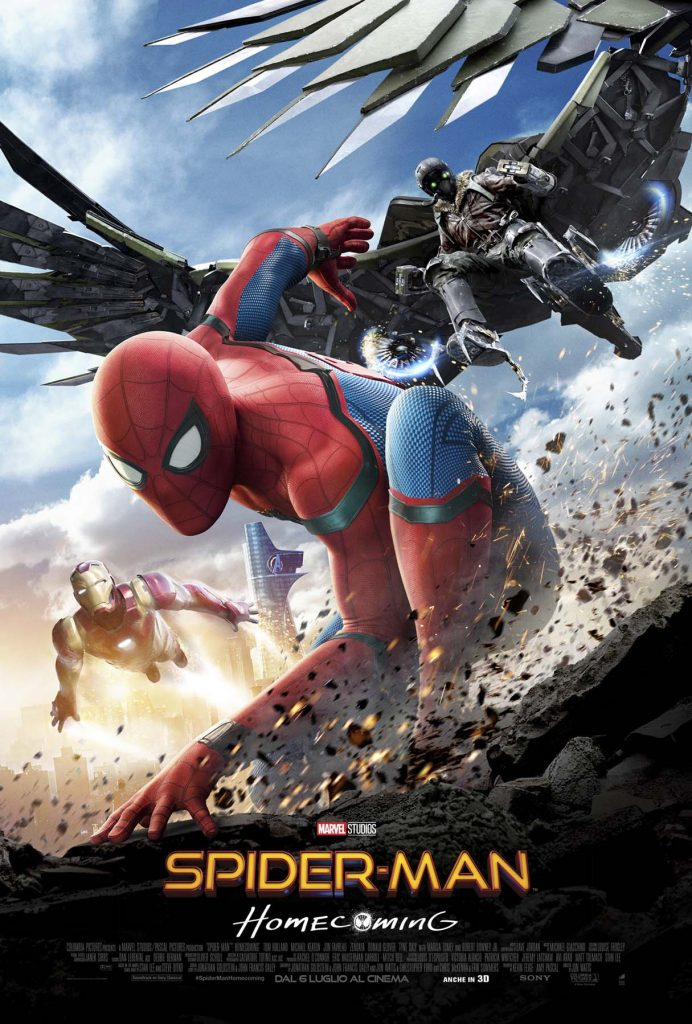 Spider- Man: Homecoming, uno sguardo all'Avvoltoio
