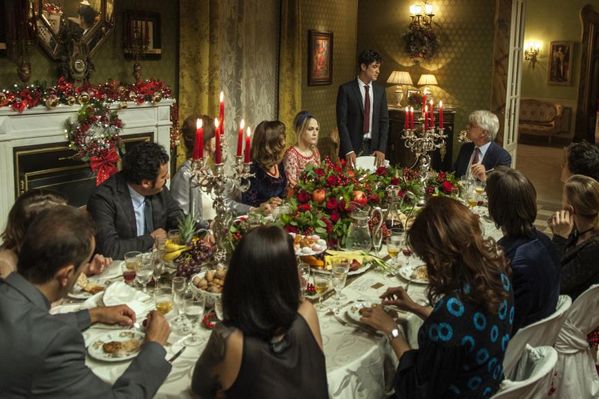 La cena di Natale - conferenza stampa