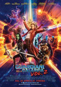 Guardiani della galassia vol. 2 poster