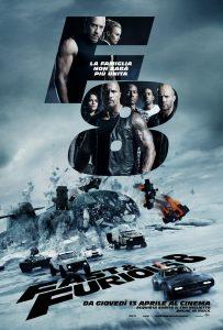 Locandina Fast & Furious 8