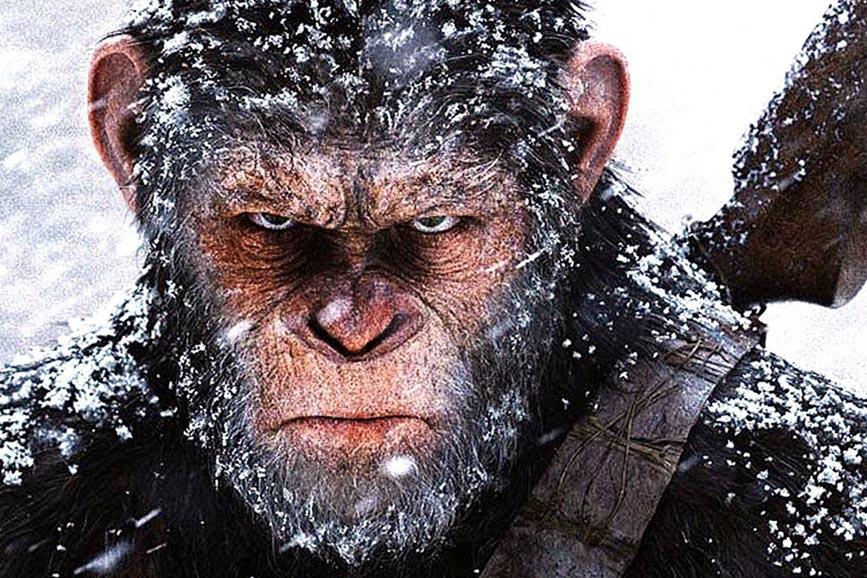 The War - Il pianeta delle scimmie primo piano