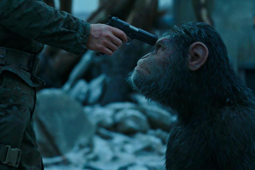 The War - Il pianeta delle scimmie una scena