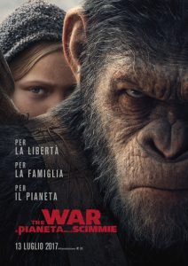 The War - Il pianeta delle scimmie poster
