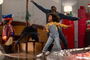Famiglia all'improvviso Gloria e Samuel ballano