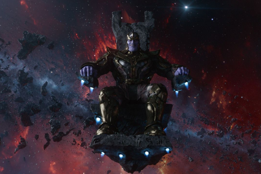 """Avengers - Infinity War"": il temibile Thanos (Josh Brolin)."