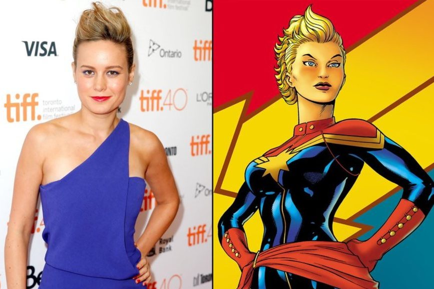 Captain Marvel: per Brie Larson