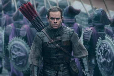 "Box Office Italia: ""The Great Wall"" al primo posto"