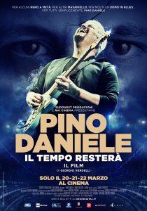 poster Pino Daniele - Il Tempo Resterà