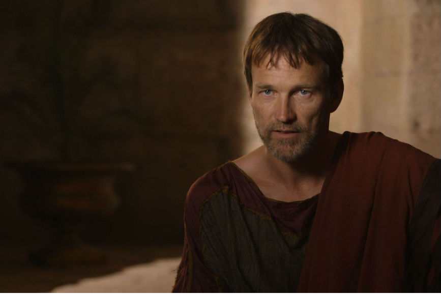 Stephen Moyer on Playing Pontius Pilate - Killing Jesus Video - National Geographic Channel