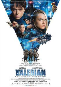 Valerian e la città dei mille pianeti poster