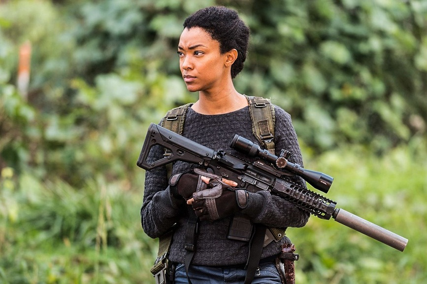 Sasha di The Walking Dead