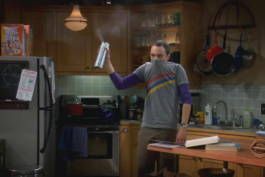 Sheldon Cooper Spray