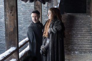 Il Trono di Spade Sansa e Petyr Baelish