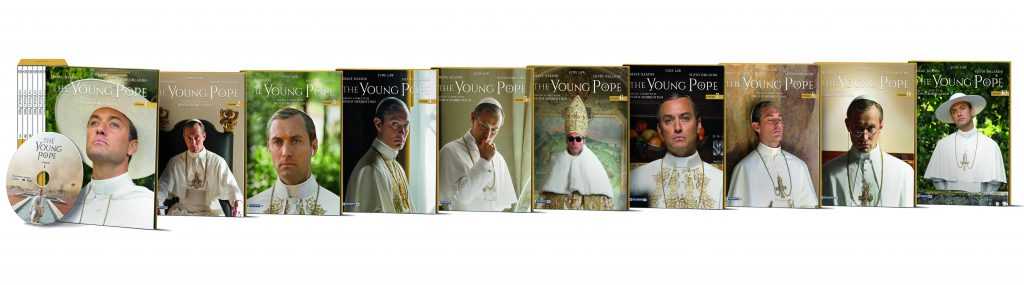 dvd 10 The Young Pope