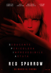 Red Sparrow - locandina italiana