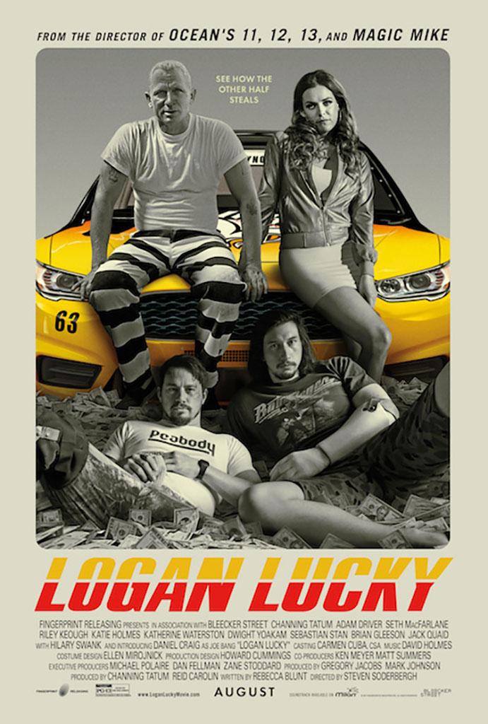poster di Logan Lucky